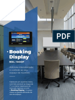 Folder A4 Booking Display Internet