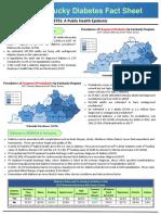 2019 Kentucky Diabetes Fact Sheet