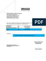Invoice Pt Cogindo Word Dwifanani