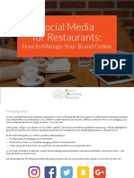 Social Media Guide for Restaurants