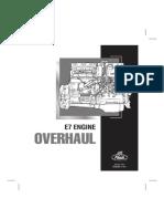 Manual Motor Mack E7