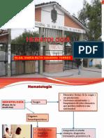 Presentación HEMATOLOGÍA