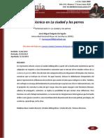 «Trabajo técnico en La ciudad y los perros»