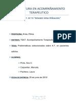 Problemáticas Seleccionadas Sobre a.T. en Pacientes Adictos. T.P ELENA