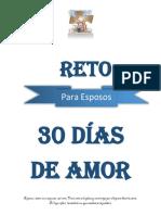 EL RETO DE PACTO DE AMOR