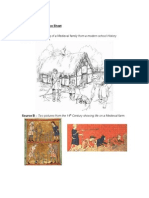 Medieval Life Source Sheet