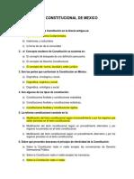 GUIA HISTORIA CONSTITUCIONAL DE MEXICO RESUELTA