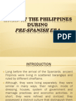 Music of the Philippines During Pre-spanish Era