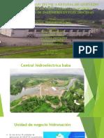 Presentación hidroelectrica baba