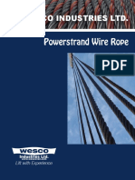 Power strand wire rope