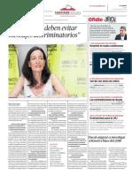 """""""Los partidos deben evitar mensajes discriminatorios"""""""