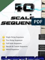 40 escalas
