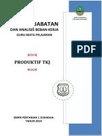 Anjab Guru 2019_SMKNP 1 Sukaraja_Bahasa Indonesia