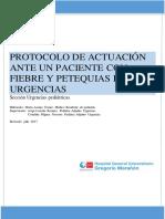 Fiebre y Petequias 2017