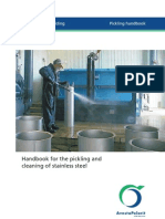 Handbook for the Pickling and Cleaning of Stainless Steel