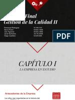 Proyeto Final Gestión de Calidad II - Grupo 3