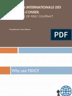 FIDIC 1999 Presentation