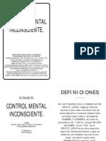 Sheila R Vitale Control Mental Inconsciente