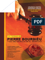 Las Teorías de Pierre Bourdieu y su incidencia en el Derecho