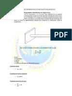 MODELO DE UNA EDP parabólica