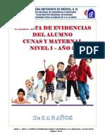 Párvulos menores, libro del alumno. Nivel 1, Año 3.