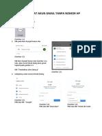 Tutorial Membuat Akun Gmail Tanpa Nomor Hp