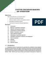 1-Quantitative Decision Making and Overview.pdf