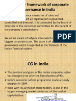 Regulatory Framework of Corporate Governance in India Ppt