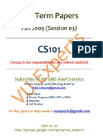 CS101 - Mid Term Fall 2009 (Session 03) Solved Paper.pdf