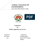 Assignment on Mobile Applications and Services - By Kaisar Bashir-converted