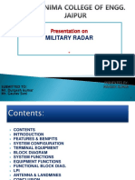 Military-Radar
