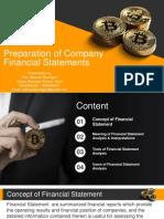 Module 5 - Preparation of Financial Statement