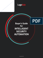 Buyers Guide Intelligent Security Automation
