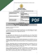 5500-2015-230 - Patrocinio Ilegal, Trafico Influencias y Colusion