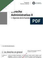 2. El personal de la administracion. El ejercicio de la función pública 03 - 10