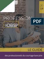 Profession Iobsp 2019