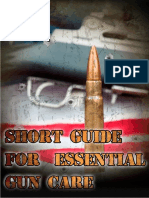 Short Guide for Essential Gun Care