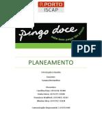 Planeamento - Pingo Doce