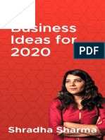 50 Business Ideas for 2020
