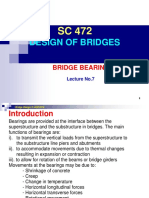 Lecture No.7 - Bridge Bearings