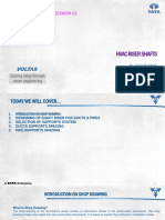HVAC Risers Presentation Format