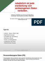 Datenschutzschulung DSGVO