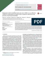 Applied Catalysis B- Environmental Volume 164 Issue 2015 [Doi 10.1016%2Fj.apcatb.2014.09.008] Luo, Shilu; Duan, Lian; Sun, Binzhe; Wei, Mingyu; Li, Xiaoxia; X -- Manganese Oxide Octahedral Molecular s
