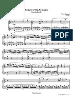 Sonata Facile - First movement [K 545]