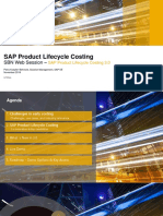 SAP Product Lifecycle Costing 3.0 - Nov 2018