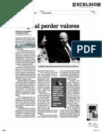 Dans le journal mexicain Excélsior