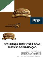 SEGURANÇA ALIMENTAR E BOAS PRÁTICAS DE FABRICAÇÃO - CURSO