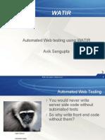 Automated Web Testing With WATIR