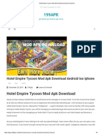 Hotel Empire Tycoon Mod Apk Download Android Ios iPhone