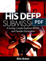Kim Acton - His Deep Submission - A Loving Couple Explores BDSM and Female Domination (2011).epub